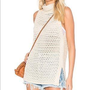 Free people northern light vest sleeveless size S
